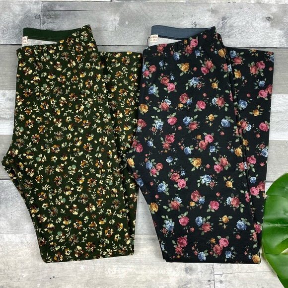 Zara Other - Zara kids floral fall leggings 13/14